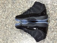 Retro 11 Black Gamma Blue Retro 11s Men Shoes XI basketball ...