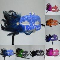 MJ014 Мода женщин сексуальные маски маски Hallowmas Венецианский глаз маскарадные маски с перьями Пасхальное маски троистыми праздник падения маски судоходства