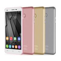 Оригинал Oukitel U7 Plus Quad Core 4G LTE сотовый телефон 5,5-дюймовый HD-экран с отпечатков пальцев MT6737 Android 6.0 2G + 16G 2500mAh разблокированный телефон