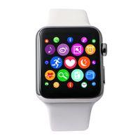 Nuevo diseño IWO W51 IP65 sin hilos que carga el reloj elegante de Bluetooth dispositivo de Werable para el teléfono elegante del TELÉFONO INTELIGENTE IOS