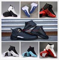 Wholesale Retro XII Women Mens basketball shoes 100% Good Qu...