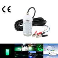 LIXADA 12V 30W IP68 Water Resistant 0-30m richiamo LED luce subacquea Pesce Attrattore Lampada per Sea Lago pesca di notte L1013