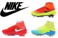 Nike Magista Obra FG- Red Vert pur FG- Red White Nike Mens Hyp...