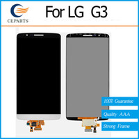 LCD pour LG G3 D850 écran LCD + écran de numériseur tactile écran blanc or gris pour LG G3 D850 D851 D855