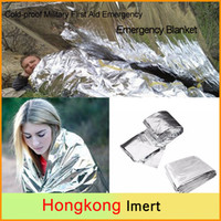 New Cold- proof Military First Aid Blankets Survival Rescue C...