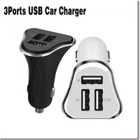 Universal Mobile Phone Car Charger 3 Ports USB Car Charger A...