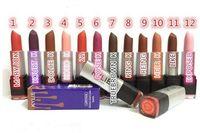 24pcs Дженнер Губа Помады Rougea Серена Шарм Розовый Кайли матовая губная помада Блеск для губ Бренды Наборы для макияжа губ 12 цветов