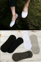 Free shipping 5 pair Men' s Casual Boat Socks Non- Slip I...