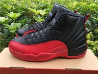 DHL Shipping retro 12 Flu Game 12s With Real Carbon Fiber fo...
