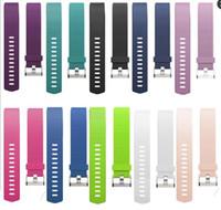 Nouveau Sport Remplacement Silicone Bands Sangles pour Fitbit Charge 2 Bracelets Smart Bandes Bracelets PK Fitbit Alta Blaze Flex Bracelets Montre Apple
