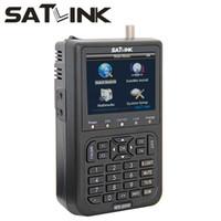 1PC Satlink WS- 6908 WS6908 3. 5 inch DVB- S FTA digital satell...