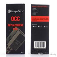 Kanger Coulisse verticale bobine Clapton 0.2ohm 0.5ohm 1.2ohm bobines 1.5ohm pour kanger subtank mini nano Kit Subvod