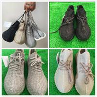 PU Shoes 350 boost sneaker (sock+ keychain)shoes kamatiti - S...