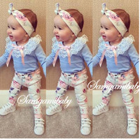 Child Clothes Baby Clothing Girl Dress 2016 Spring Autumn Lo...
