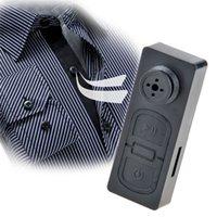 Мини-камера DVR мини-кнопка видеокамера Spy камеры DVR Скрытая камера Vedio записывающее устройство прослушивания бесплатная доставка