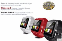 Bluetooth Watch U8 Montre Smart Watch Montre Smartwatch sport numérique pour Apple IOS téléphone Android Wearable électronique