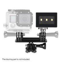 Super Mini portatile Fotografia Fotografia Lampada LED video per GoPro 3/3 + / 4 Action Sports Camera D3766
