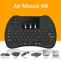 Air mouse Remote control H9 mini Wireless Game Handle Touchp...