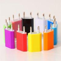 5V 1000mAh Красочные США Plug USB зарядное устройство AC адаптер питания Главная зарядное устройство для iphone 6 Samsung Galaxy S6 S7