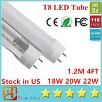 Stock in USA 4ft 18W 22W 28W 45W T8 Led Tube Light 4500lm Le...