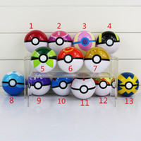 7CM 13 Styles Poke Ball Figure ABS Action Figures Toys Super...
