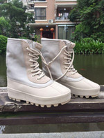 2016 New Kanye West 950 Boots High Boots Duck Boot Color Pey...