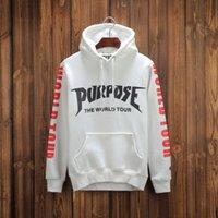 Hight quality purpose the world tour kanye west sweatshirt r...