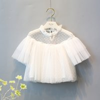 Retail 1pc lot 2016 New Kids White Top Lovely Shirt Top Pret...