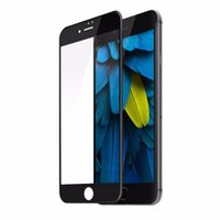 Pour iPhone 7/7, plus 0.23mm PET Estompée 3D surface incurvée Anti-Blue Light Pleine couverture en verre trempé Film Avec Package Retail