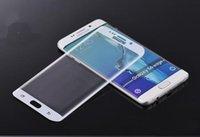 Protector de la pantalla completa el cristal templado de la nota 7 S6 S7 S6 de la galaxia del 0.2MM más borde el protector completo de la pantalla de la curva de la pantalla libera el envío