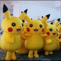 High Quality Pikachu Mascot Costume Popular Cartoon Characte...
