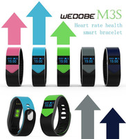 New Smart Bracelet Wedobe M3S Sports Wristband Heart RateSle...