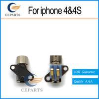 Bonne qualité Moteur vibrant pour l'iPhone 4 pour l'iPhone 4S Pièces de réparation Vibromasseur avec DHL Expédition rapide
