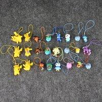 8 Styles Anime Poke Pikachu Eevee Horsea Psyduck Lapras Keyc...
