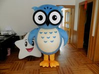 Hot Cute Owl Mascot Costume EVA Animals Cartoon Clothing Wal...