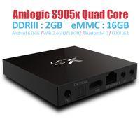 New S905 update Amlogic s905x TV Box X96 dual band Wifi AP63...