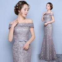 Elegant Silver Aso Ebi Prom Dresses Mermaid Cap Sleeves Floo...