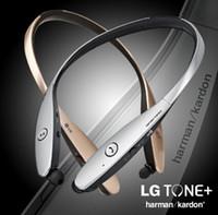 Casque Bluetooth pour G3 Smartphone LG Tone HBS- 900 Hbs900 Casque sans fil Bluetooth Casque Bluetooth Harman Kardon Sound Livraison gratuite