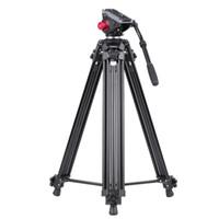 Andoer professionale lega di alluminio Videocamera treppiede Panorama del fluido idraulico testa Ballhead per Canon Nikon Sony DSLR Recorder D3804