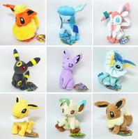 Poke Plush Toy 9 Styles 20cm Plush Toy Glaceon Leafeon Eevee...