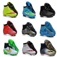 17 colors! Cheap Top Mercurial Superfly FG Soccer Shoes Boot...