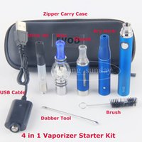 eVod 4 in 1 Vape Pen with Wax Glass Globe Single Cotton Coil...