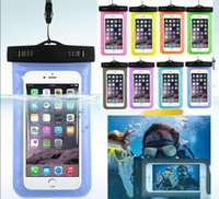 For iphone 6 s7 Universal Clear Waterproof Pouch Case Water ...