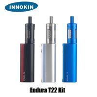 100% Original Innokin Endura T22 Starter Kit 2000mAh 14W Batterie 2.5ml Top Fill atomiseur en verre Réservoir boîte-cadeau