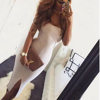 wholesale 2016 new women nude off the shoulder elegant luxur...