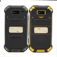 Originales a prueba de agua a prueba de polvo GuoPhone V19 teléfonos móviles Android 6.0 teléfonos inteligentes IP67 V5 + MTK6580 abrió el Quad Core 4.5inch teléfonos móviles
