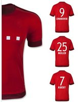 wholesale Thailand Quality 15 16 Soccer Jerseys RIBERY ROBBE...