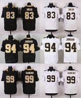 Wholesale Saints Name Numbers Stitched Mens Jerseys 9 Drew B...