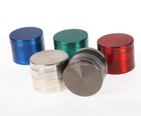Sharpstone herbe métal moulin sharpstone 4 parties Hard top Grinders du tabac Diamètre 50mm / 55mm / 63mm 6 couleurs meuleuse tabac