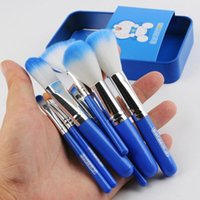 Super Kawaii NEW Doraemon Blue Handle 7PCS Per Set Small Box...